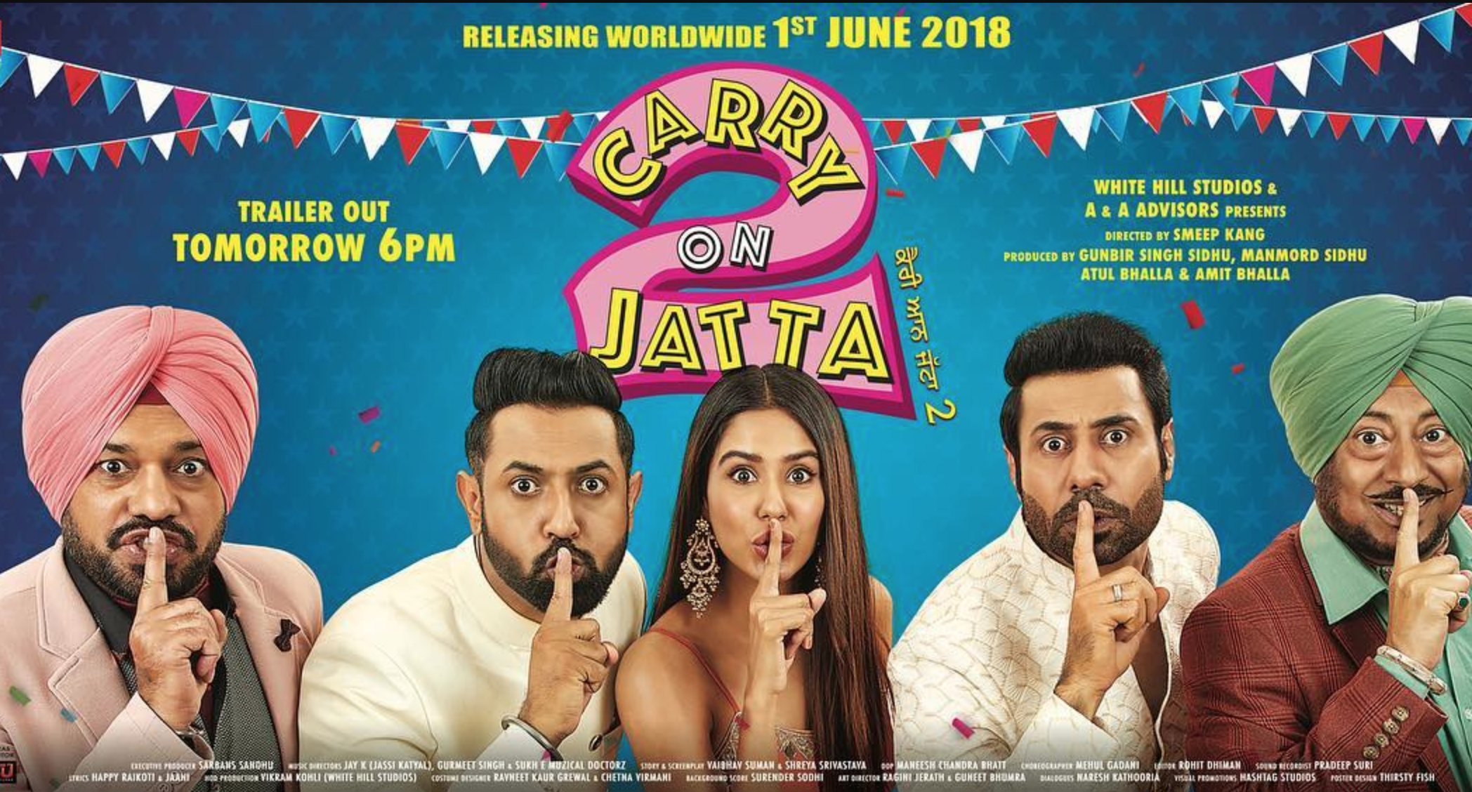 Carry On Jatta 2 - Trailer Launch Poster