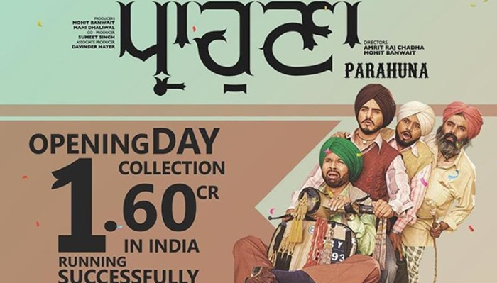 Parahuna Box Office Collection: Film Earns Rs 1.60 Cr On Day 1, Shows Going Housefull
