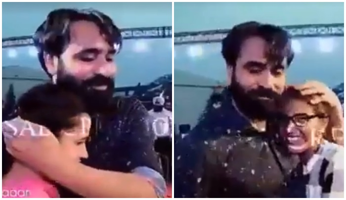 babbu maan with his fans