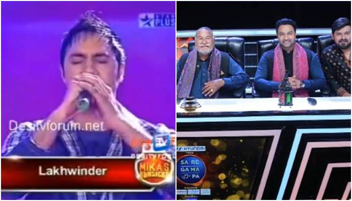 Lakhwinder Wadali as Participant in singing realty show