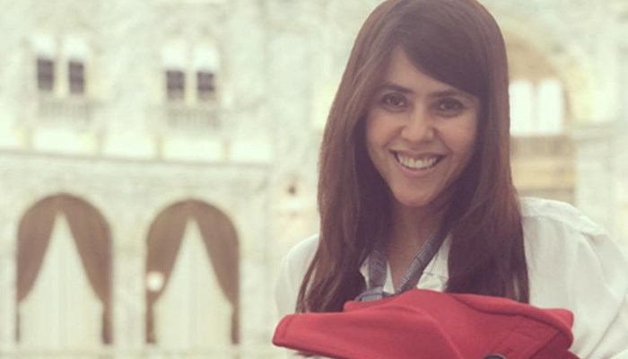 Check Out Ekta Kapoor's First Picture With Her Baby Boy Ravie