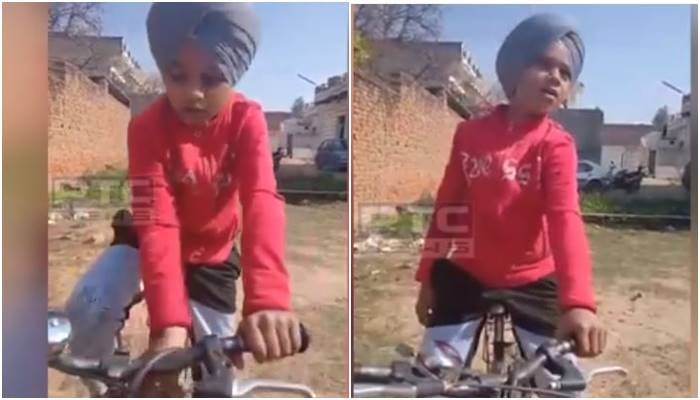 harvinder harrys maula song sung by a small kid viral video