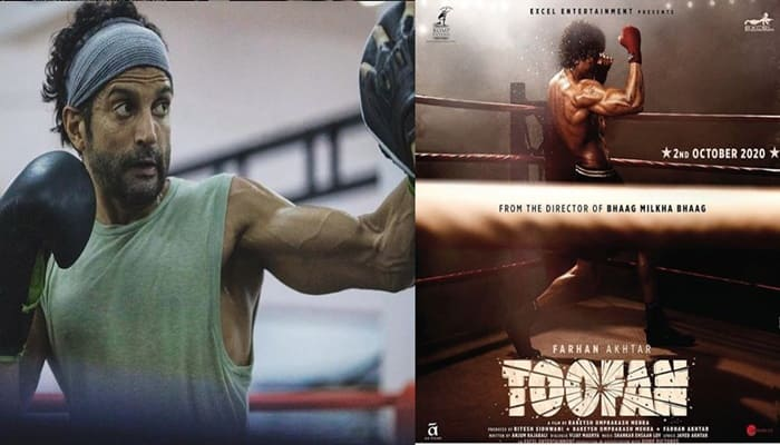 Farhan Akhtar Shares His First Look From The Movie Toofan