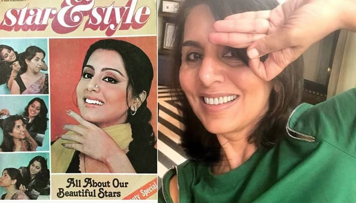 Neetu Kapoor Shares Her Old PhotoShoot for Magazine Cover