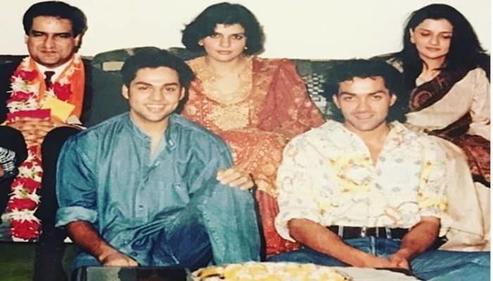 Abhay Deol Shares His Old Family Picture With Bobby Deol