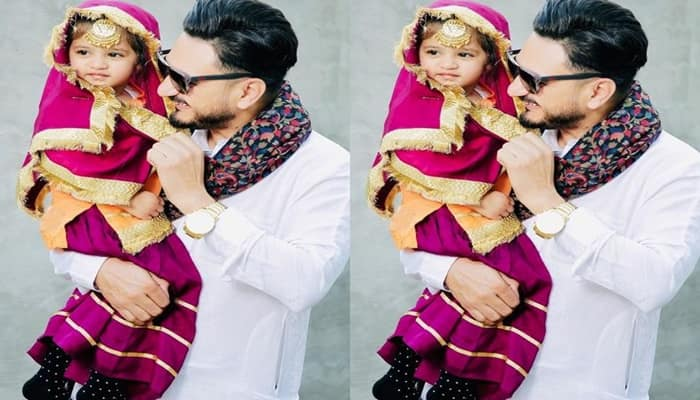 Kulwinder Billa Shares His Daughter Saanjh Cute Picture