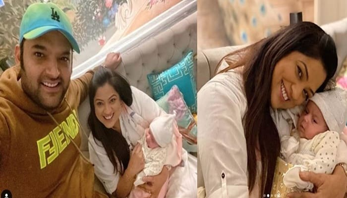 Richa Sharma Shared Pictures With Kapil Sharma's Daughter Anayra