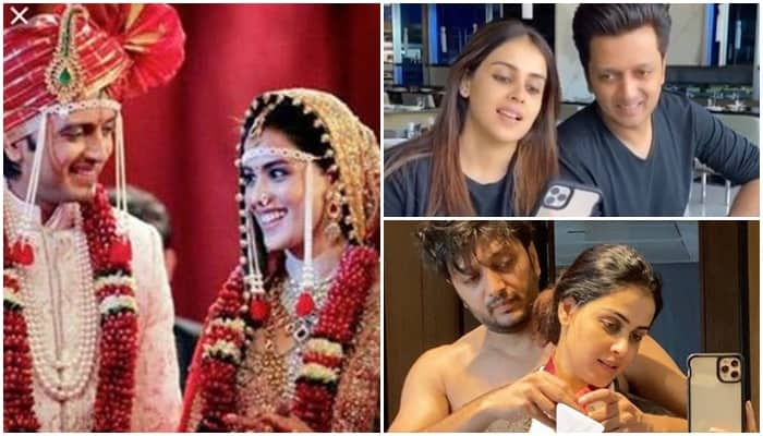 Riteish Deshmukh Wishes Marriage Anniversary Genelia With Funny Video