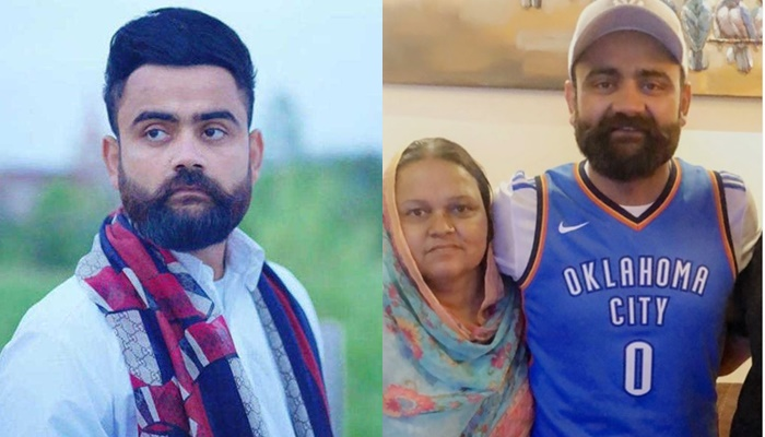 Amrit Maan With Mother 9999999999999