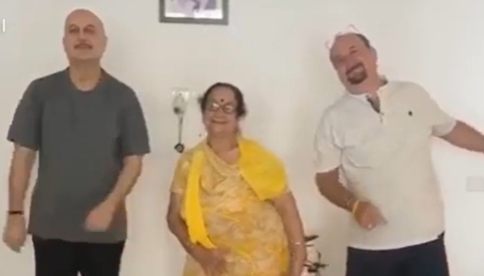 Anupam Kher Provides An Update On His Mother's Health After She Tested Covid Positive