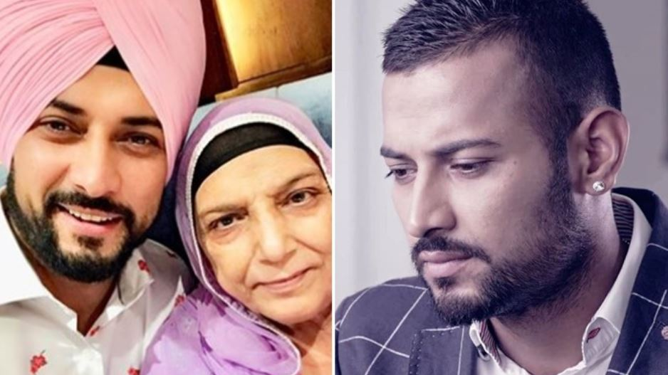 garry sandhu and his mother