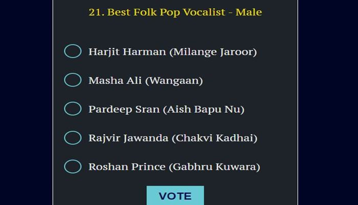 best folk vocalist male