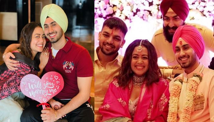 Neha Kakkar Shared Propose Day Pictures With Rohanpreet Singh