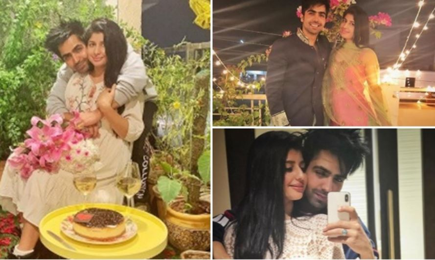 inside picture of harrdy sandhu and his wife