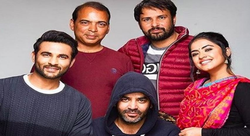 inside pic of simi with amrinder gill