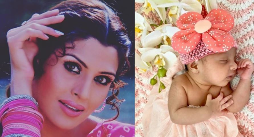 kimi verma with daughter