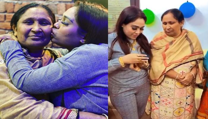 inside pic of afsana with mother