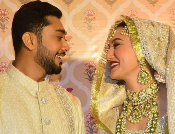 inside pic of gauhar and zaid neqah pic