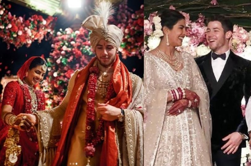 inside pic of priyanka and nick second marriage anniversary