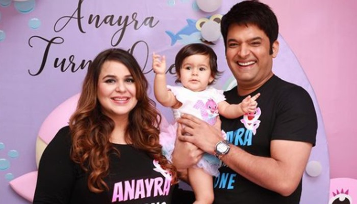 Here Is How Kapil Sharma Celebrated His Little Girl's First Birthday