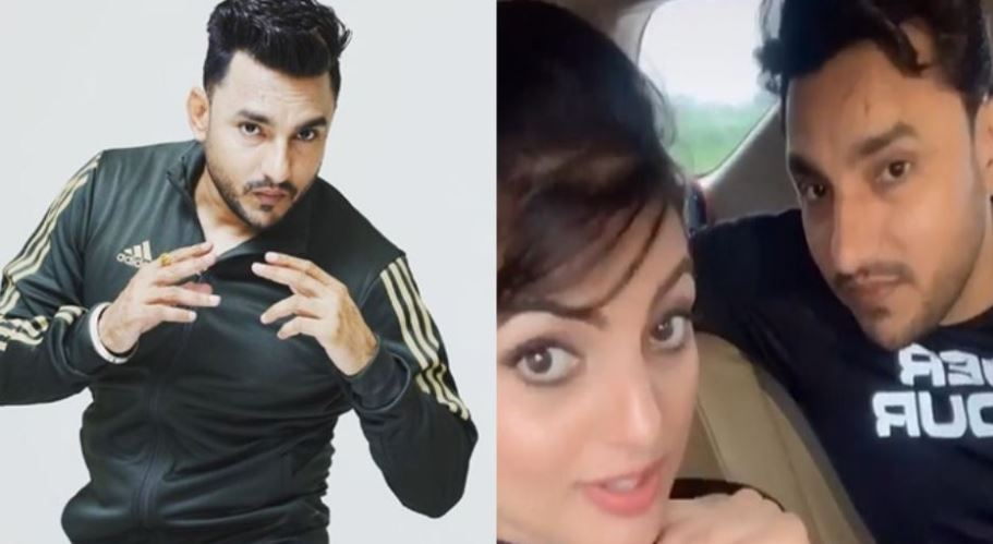 pic of deep dhillon and jaismeen jassi