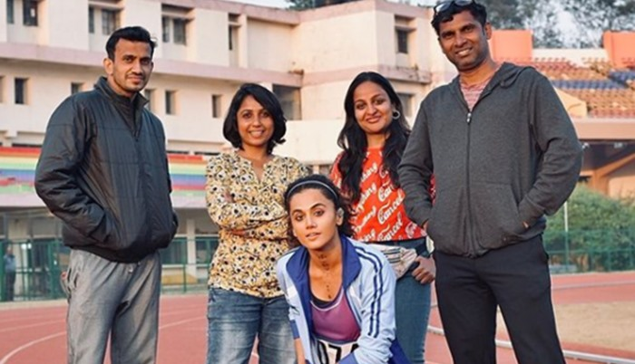 Taapsee Pannu Gets Emotional As She Wraps Up 'Rashmi Rocket' Ranchi Schedule