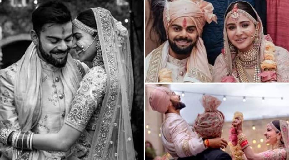 virat and anushka wedding pic