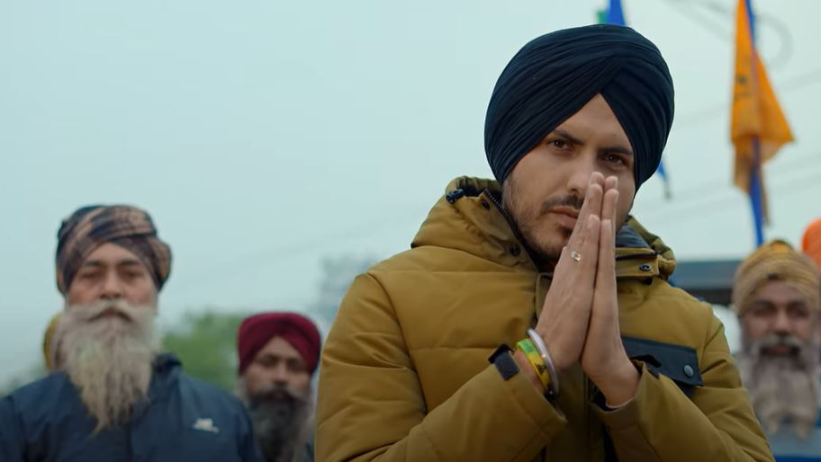 inside pic of jas bajwa new song
