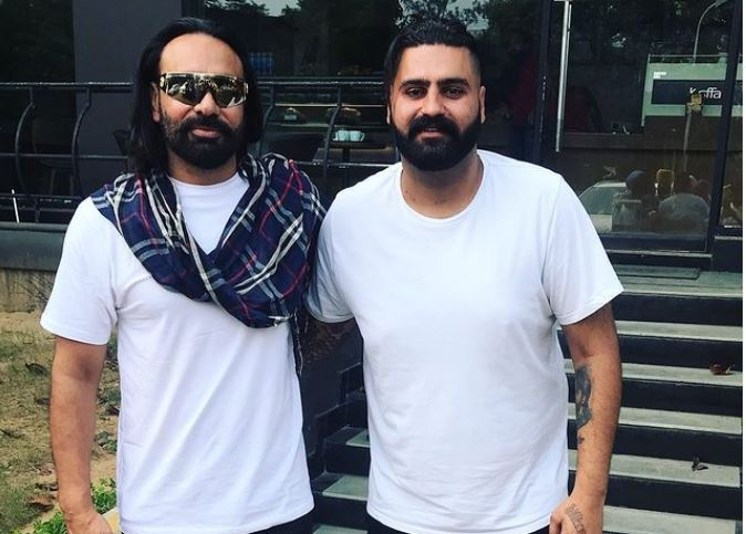 pic of babbu maan and elly mangat