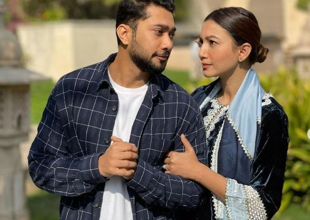 zaid and gauhar khan first month marrige