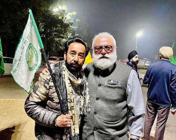 darshan aulkh with yograj singh