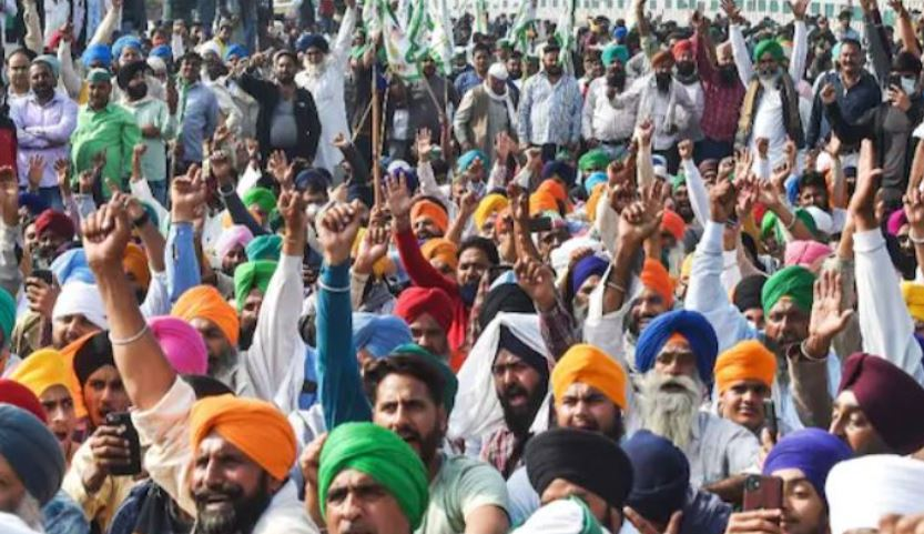 image of farmer protest