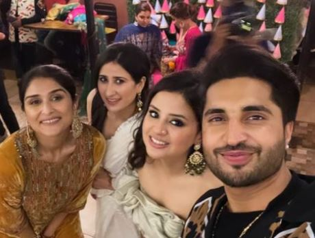 image of sakshi and jassie gill