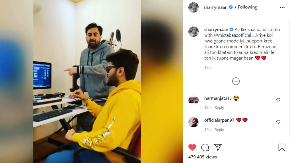 inside image of sharry maan made funny video