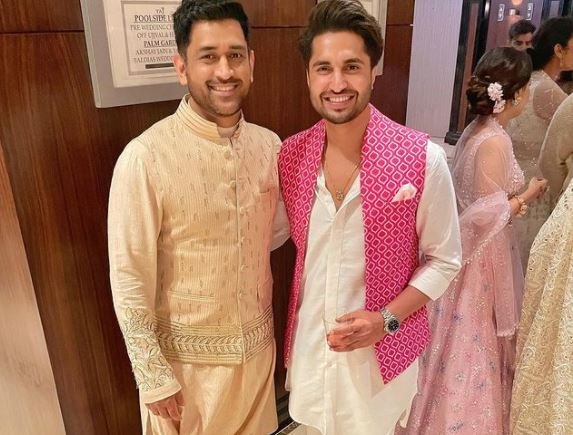 jassie gill and m s dhoni