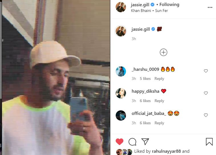 jassie gill instagram gym video posted