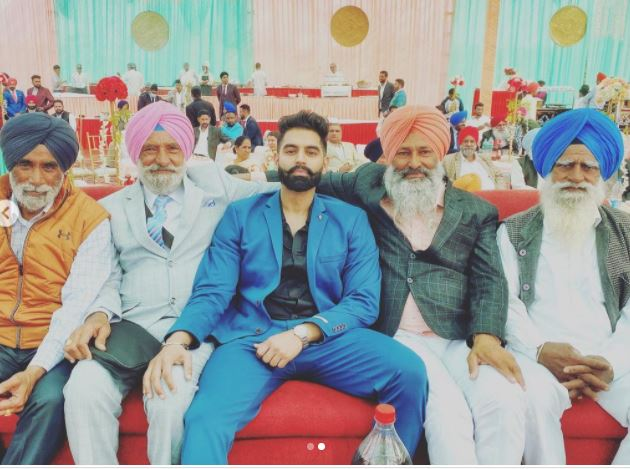 parmish verma chill with old age persons
