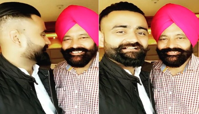 Amrit Maan Shared a Beautiful Video With His Father