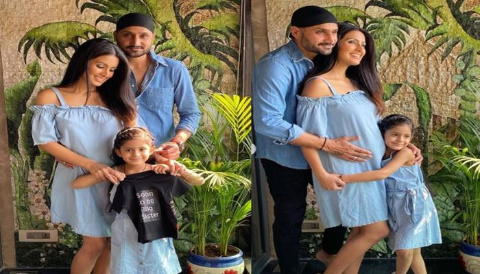 Harbhajan Singh and Geeta Basra are going to be parents for second time