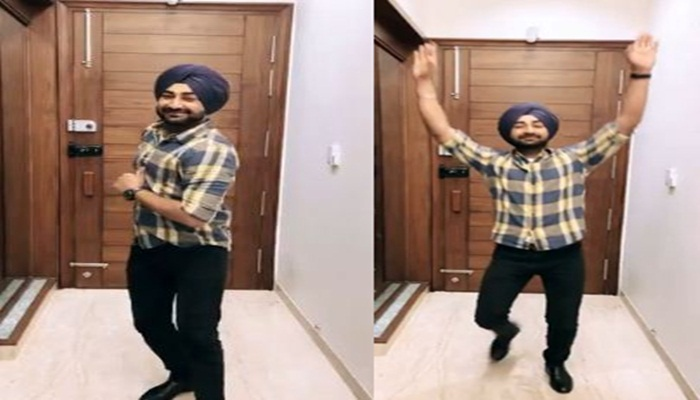 Singer Ranjit Bawa Shared His Bhangra Video With Fans
