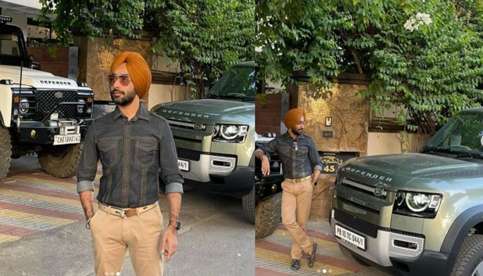 feature image of satinder sartaaj bought new luxury car