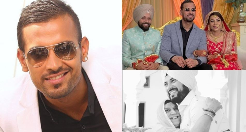 image of garry sandhu with family