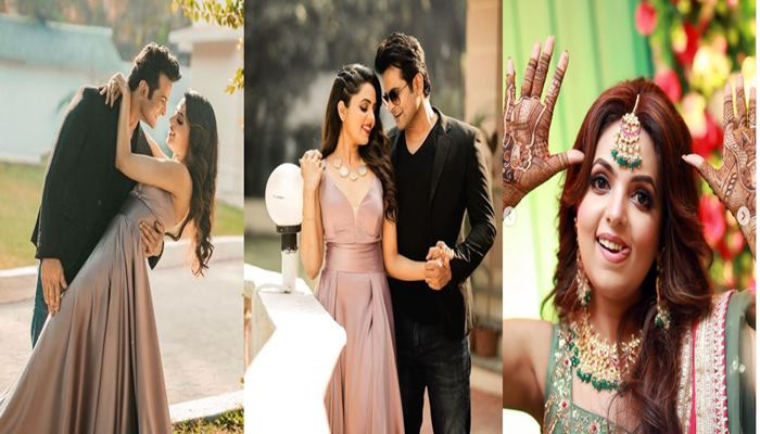 inside image of comedy quessn sugandha mishra and sanket bhaonsla married