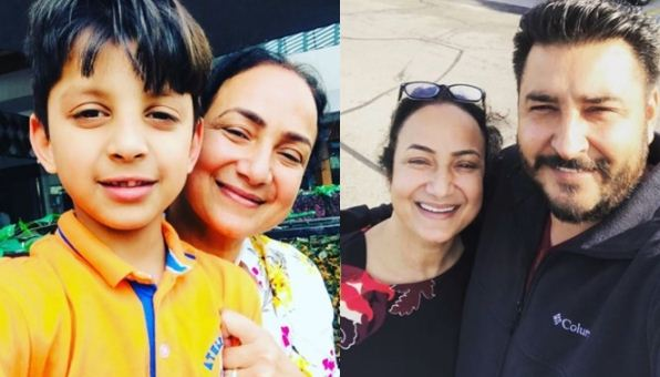 inside image of singer satwinder bitti with family