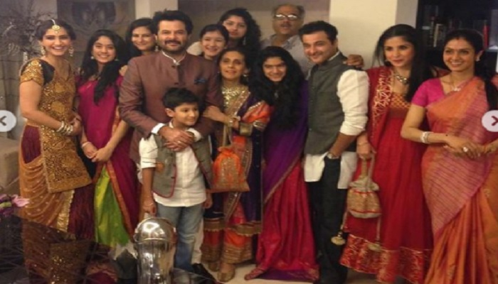 Anil with family