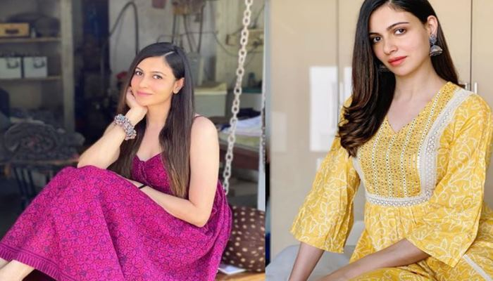 actres simran kaur mundi shared new video with fans