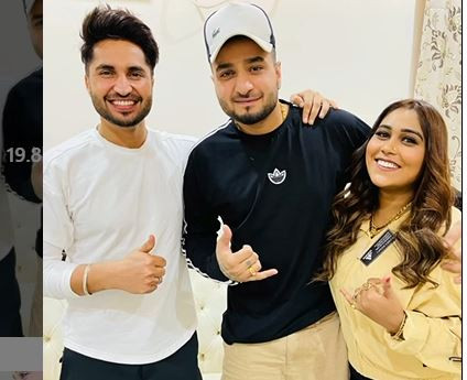 afsana khan with jassie gill
