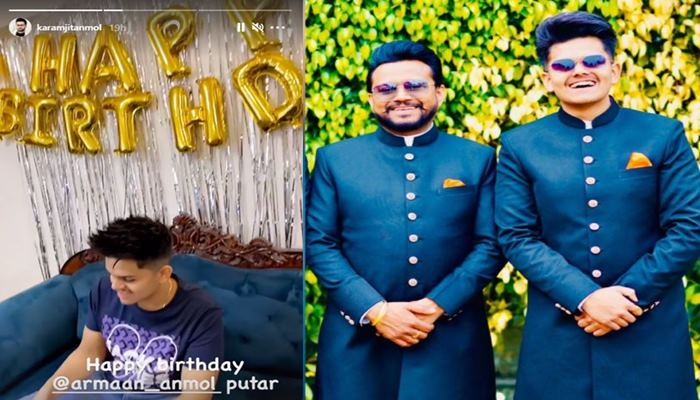 feature imge of karmjit anmol wished his son happy birthday