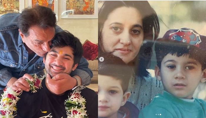 karan deol shared lovely pics of his mother pooja deol on instagram