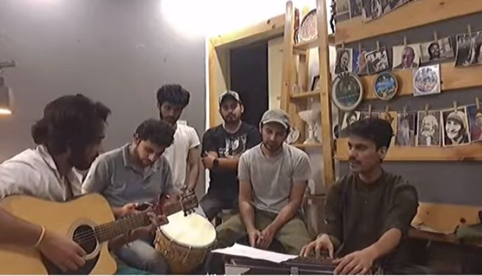 pakistani artist sing for indian's covid patients